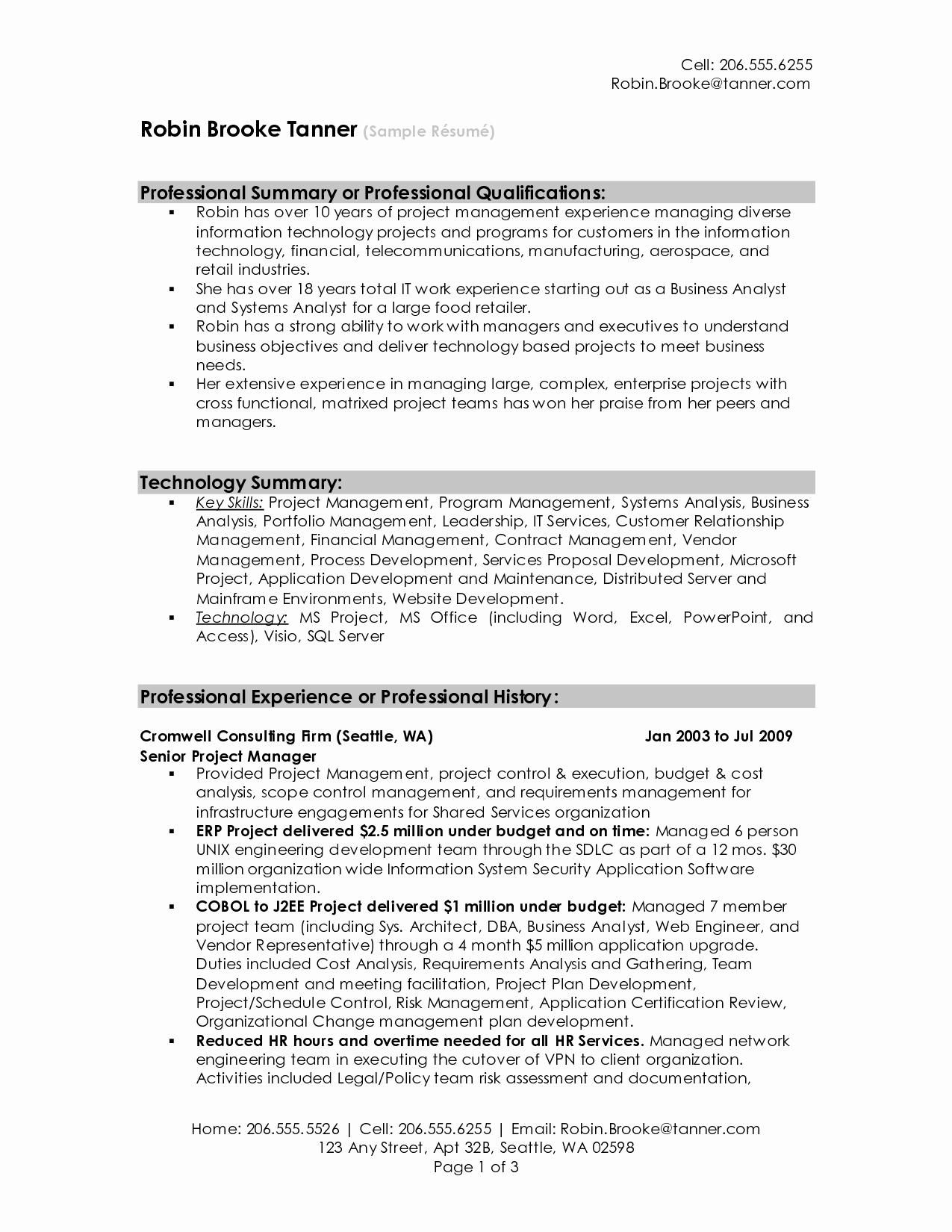 Best Resume Samples 2016