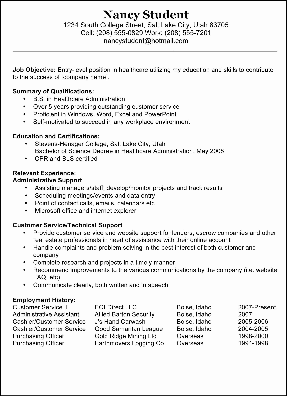 Best Resume Samples Template