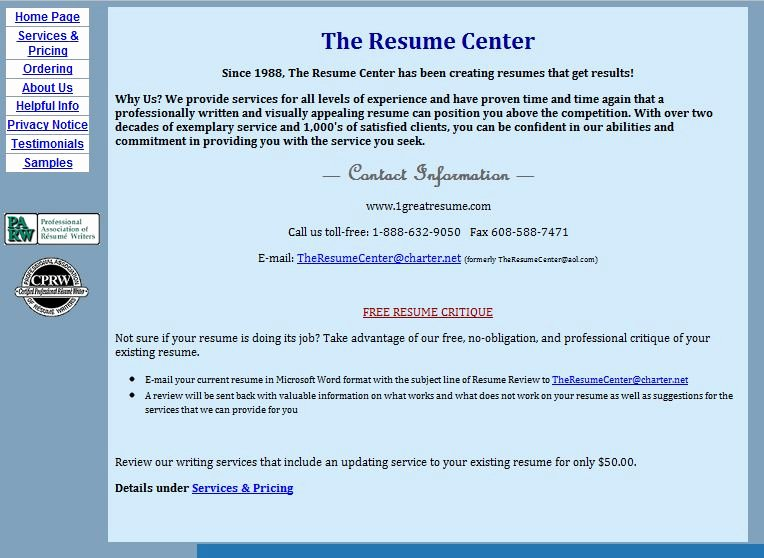 Best Resume Writing Service 1greatresume Review