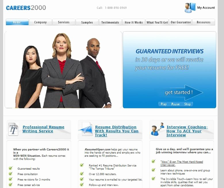 Best Resume Writing Service Careers2000 Review