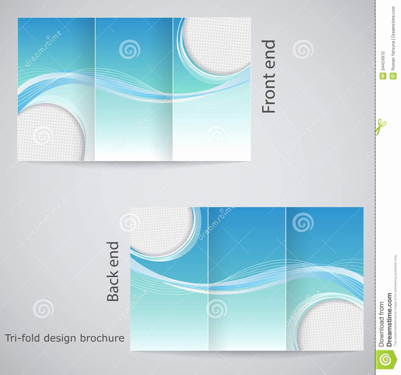 Best S Of 3 Fold Brochure Templates Flyer Free Tri