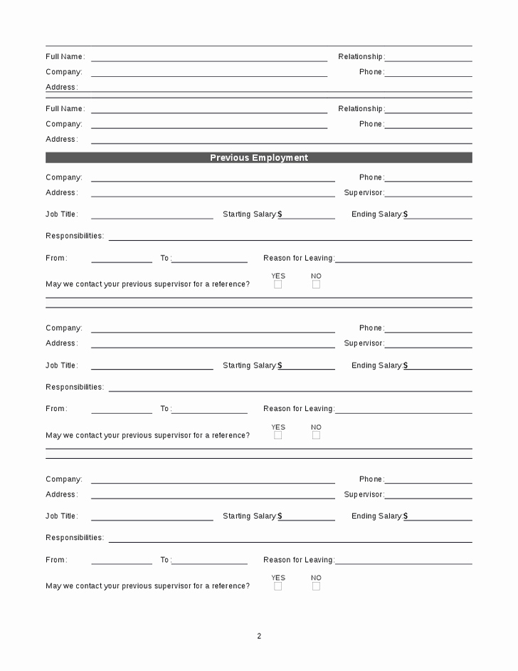 Best S Of Basic Job Application Template Basic Job