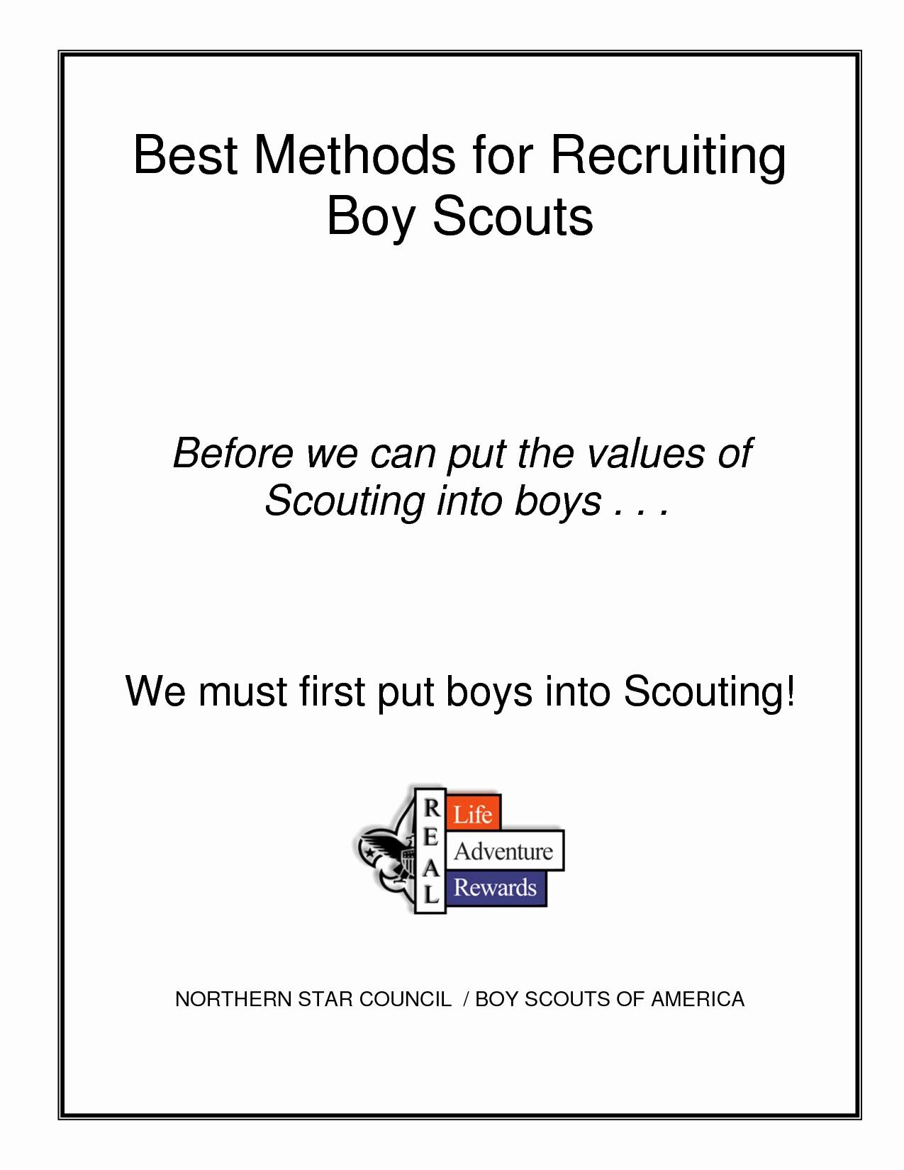 Best S Of Boy Scout Flyer Template Boy Scouts