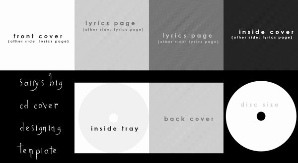 Best S Of Cd Cover Art Template Cd Jewel Case Cover