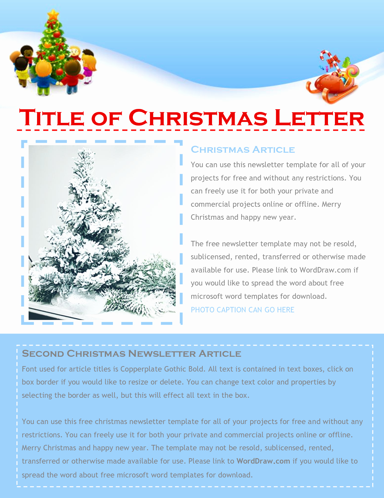 Best S Of Christmas Newsletter Wording Christmas