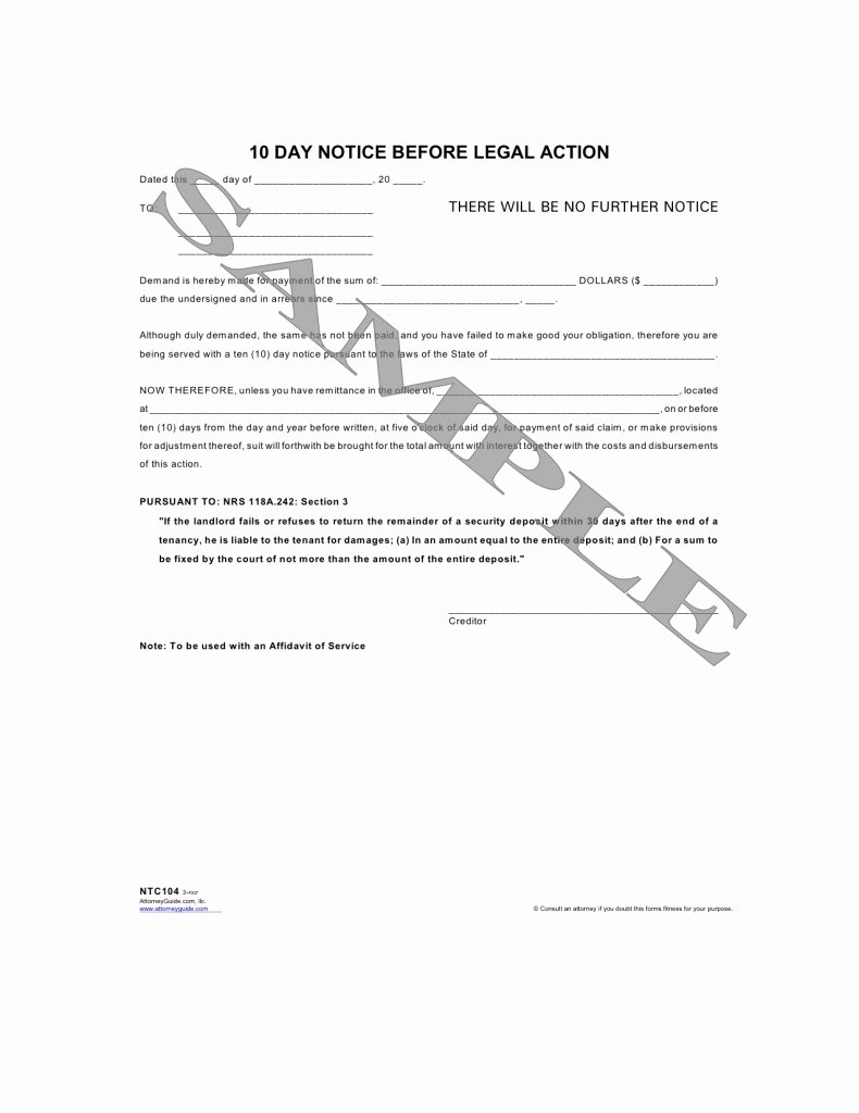 Best S Of Collection Letter before Legal Action