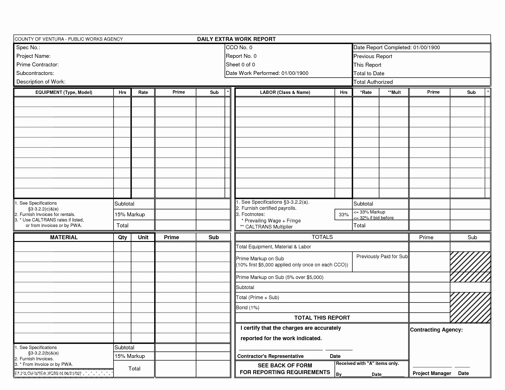 Best S Of Daily Work Report Template Free Daily