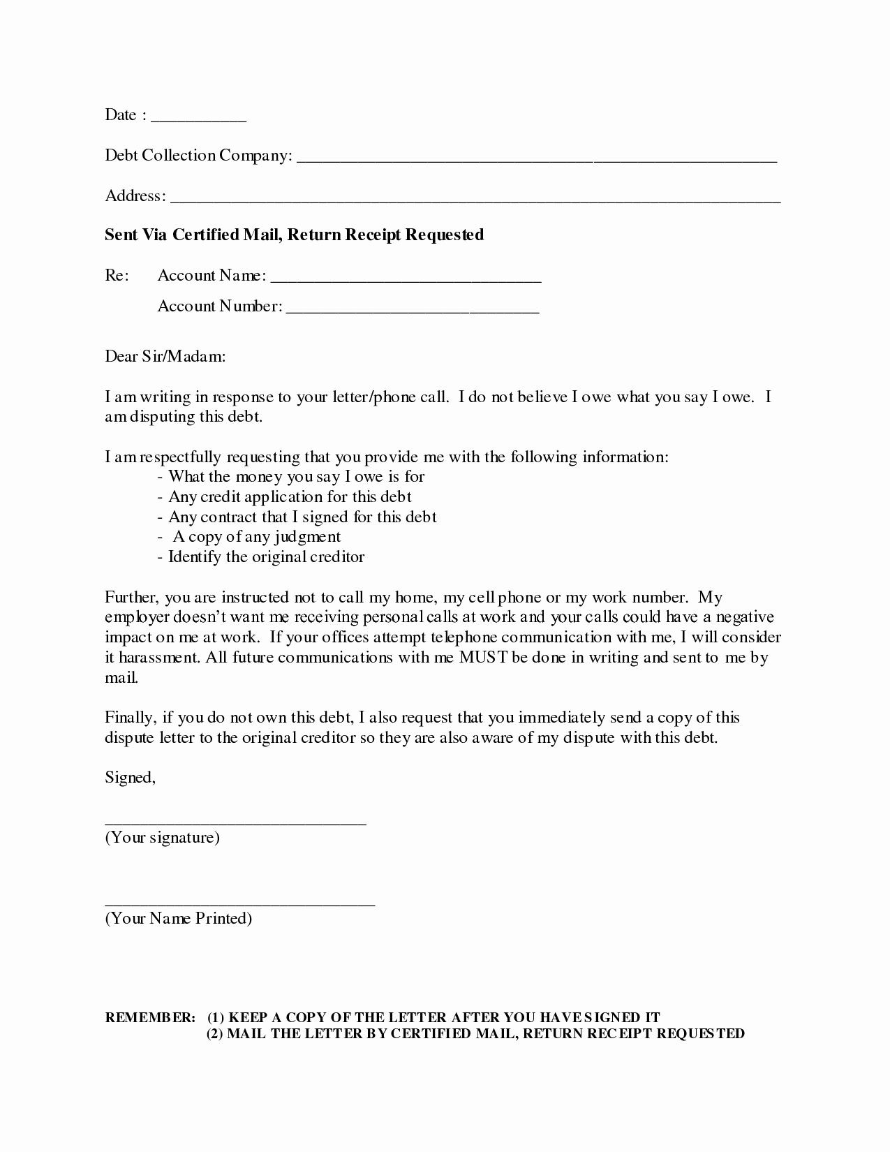 Best S Of Debt Collection Letter Debt Collection