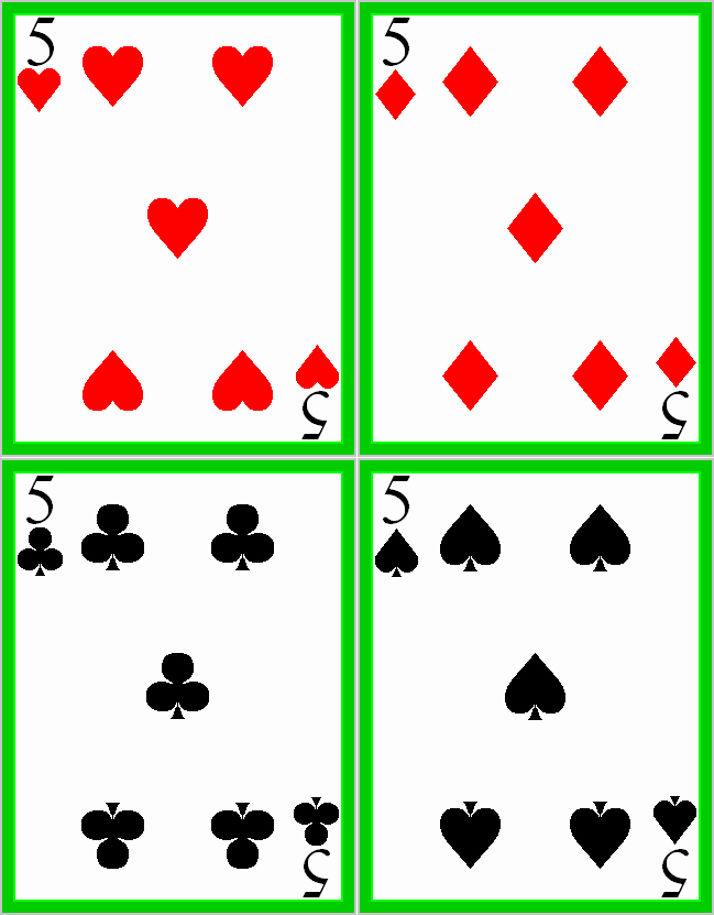 Best S Of Deck Cards Template Printable