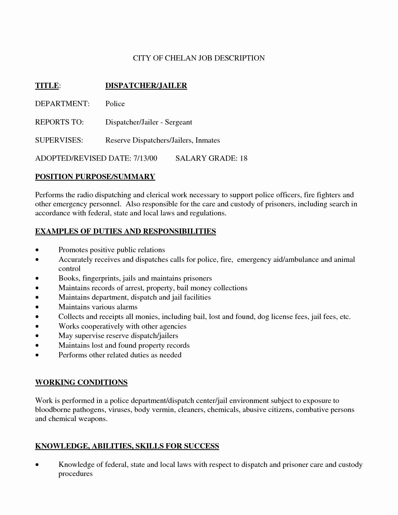 Best S Of Dispatcher Resume Templates Dispatcher
