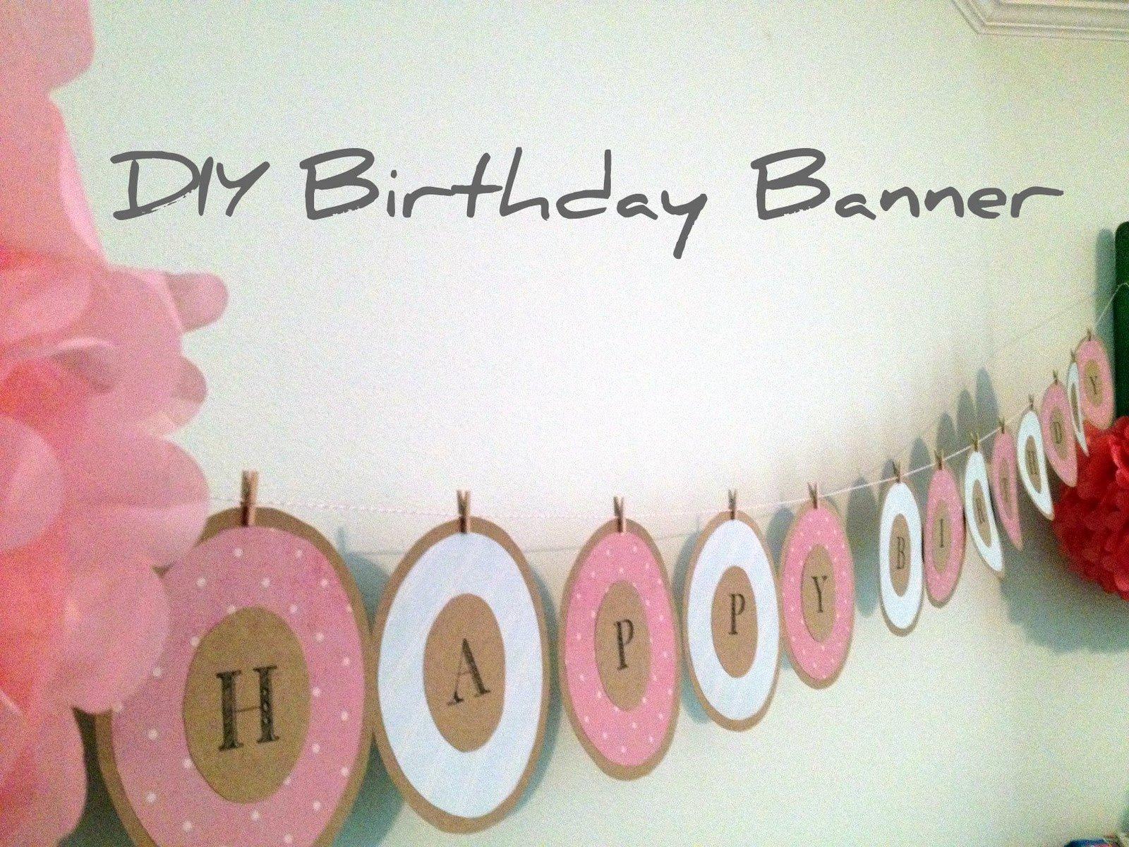 Best S Of Diy Happy Birthday Templates Happy