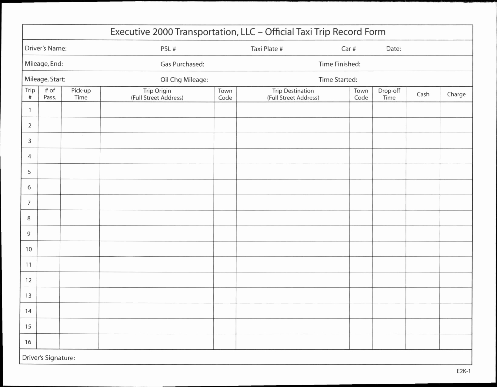 Best S Of Drivers Log Sheet Driver Log Sheet