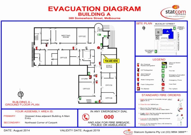 post emergency evacuation drill debriefing