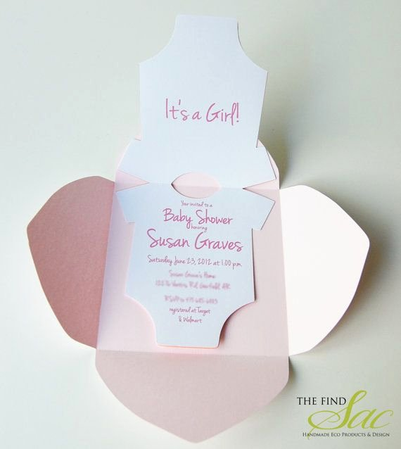 Best S Of Esie Template for Baby Shower Invitation