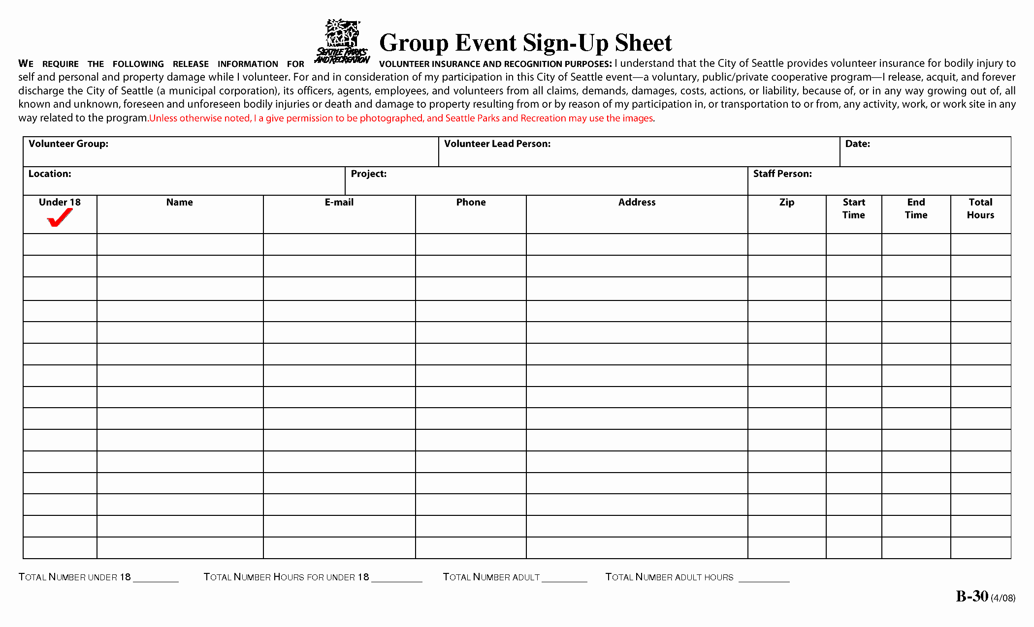 Best S Of event Sign Up Sheet Printable Blank Sign