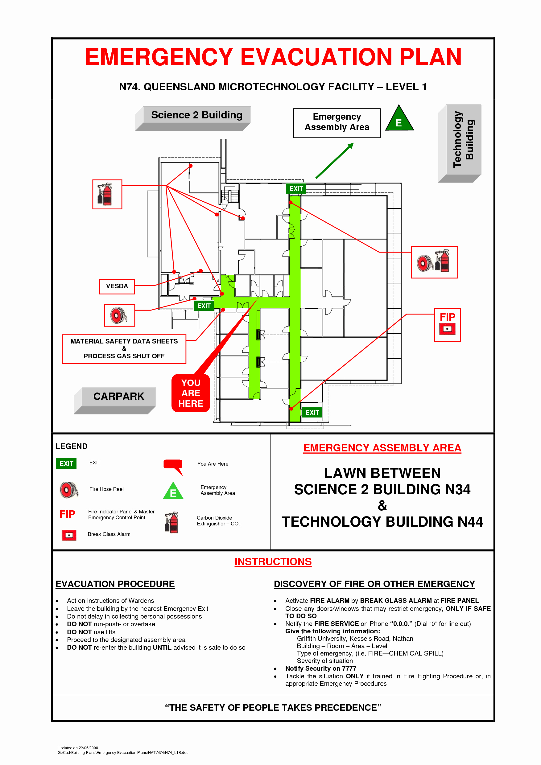 Best S Of Fire Evacuation Plan Example Emergency