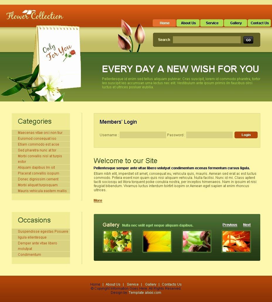 Best S Of Free HTML Website Templates HTML Website
