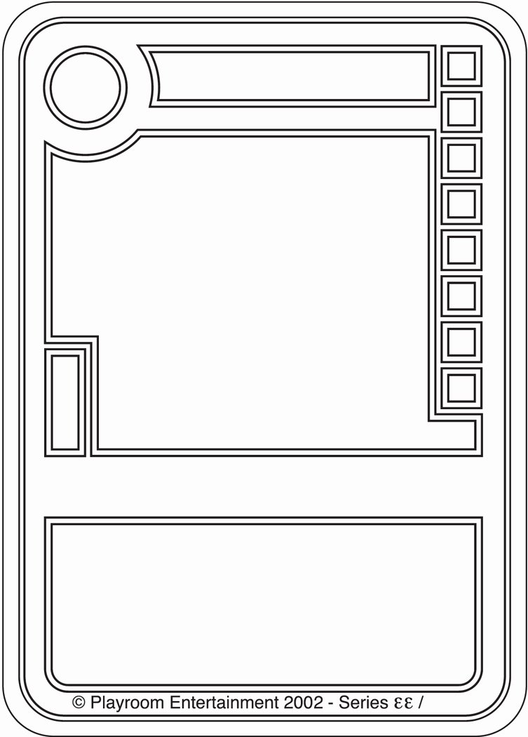 Best S Of Game Card Maker Template Board Game Blank