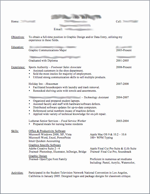 post good resume templates