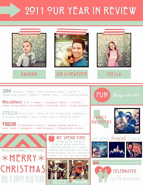 Best S Of Holiday Family Newsletter Template