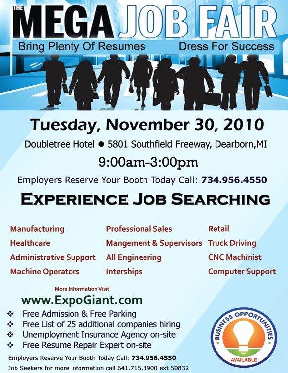 Best S Of Job Flyer Template Word Job Fair Flyer