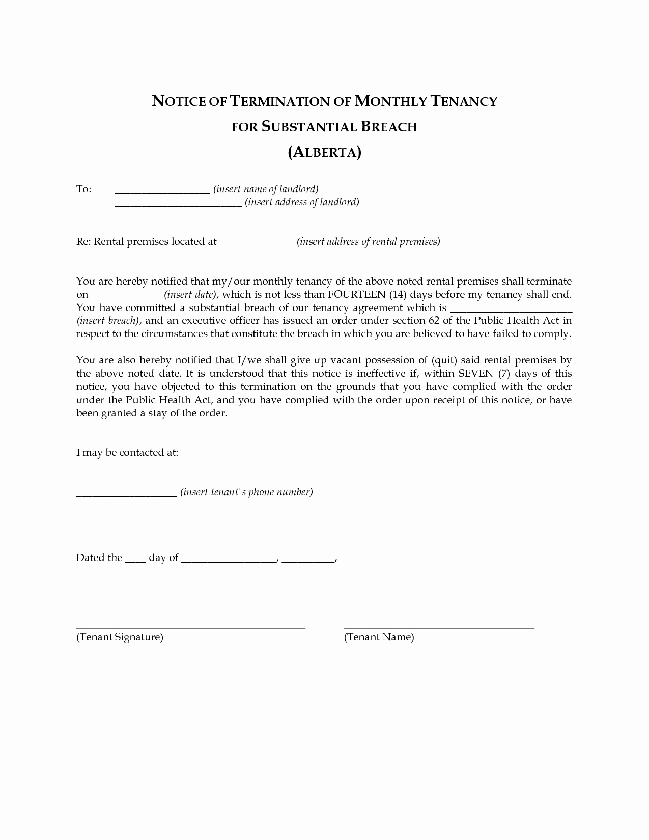 Best S Of Landlord Agreement Template Free