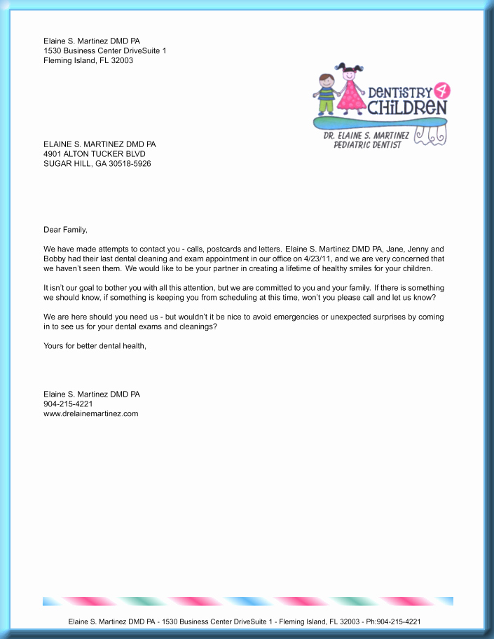 Best S Of Letter Appointment Template Sample