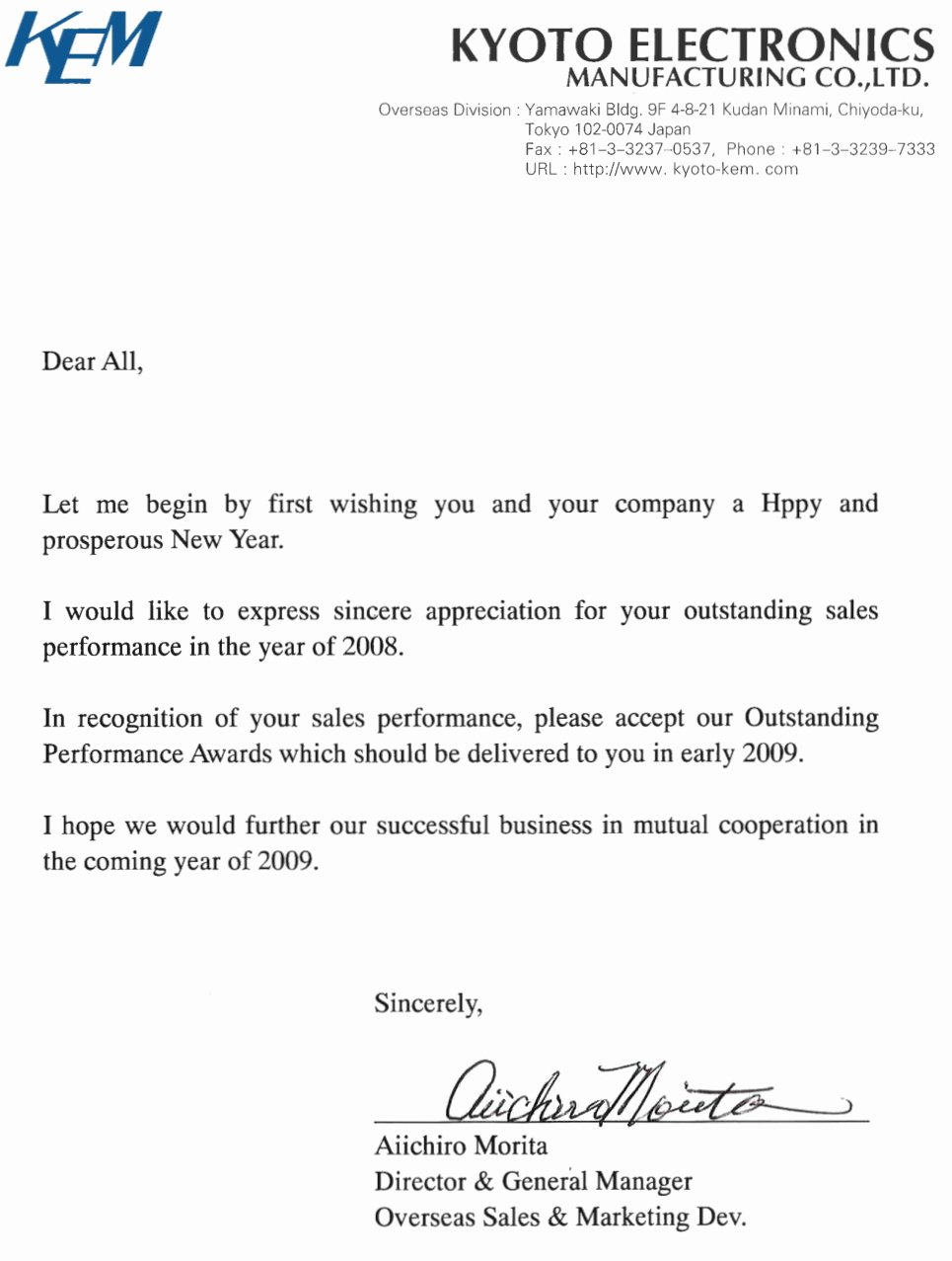 Best S Of Letter Appreciation for Job