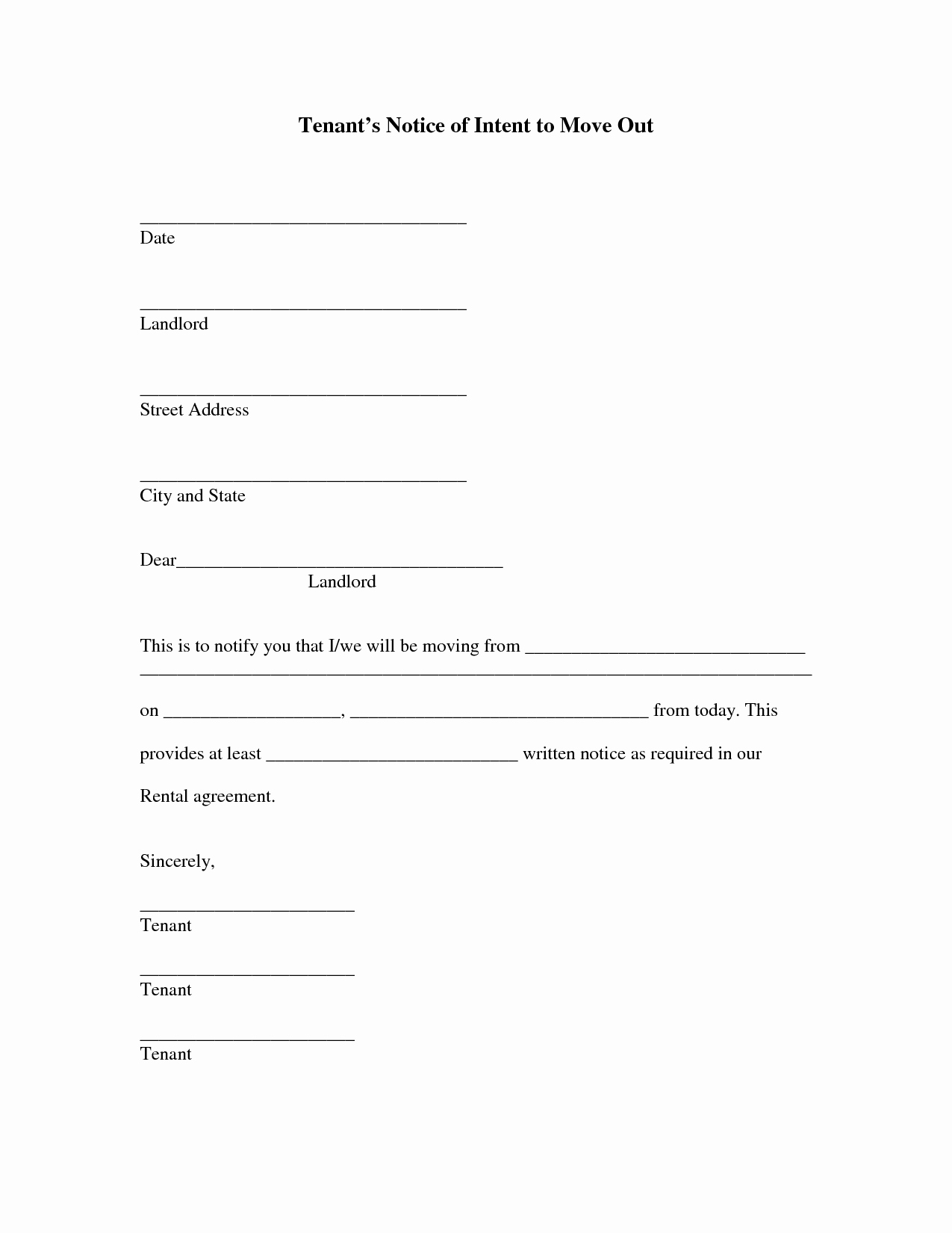 Best S Of Letter Intent to Move Employee