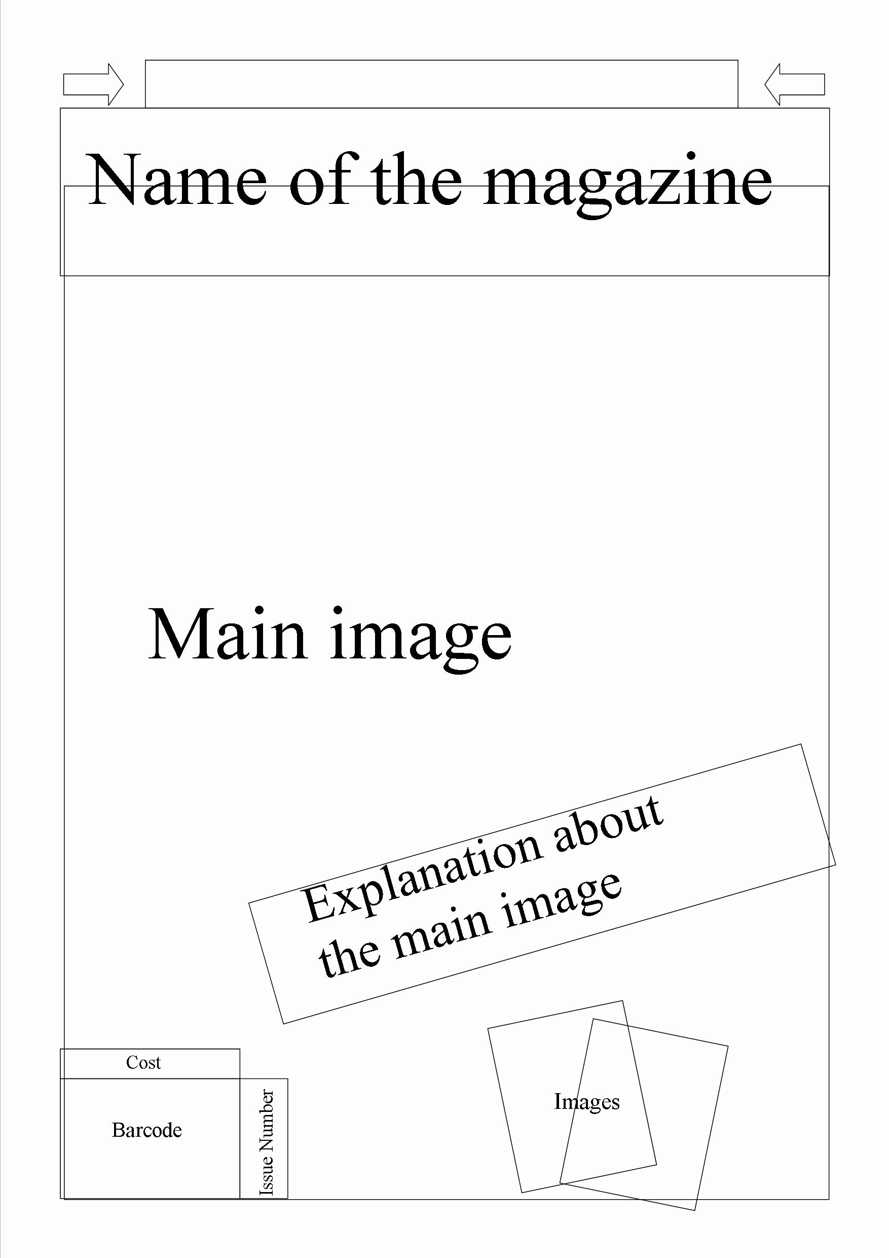 Best S Of Magazine Cover Templates Blank Times