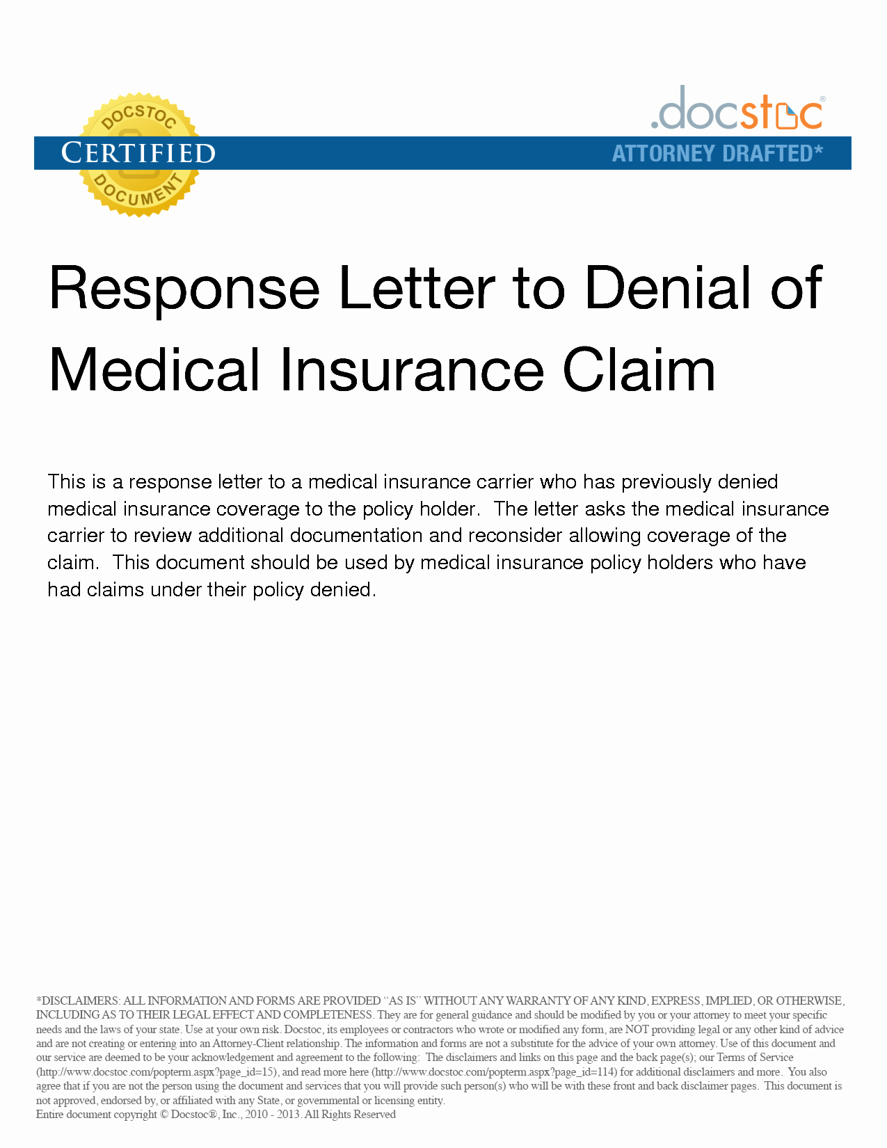 Best S Of Medical Claim Appeal Letter Sample
