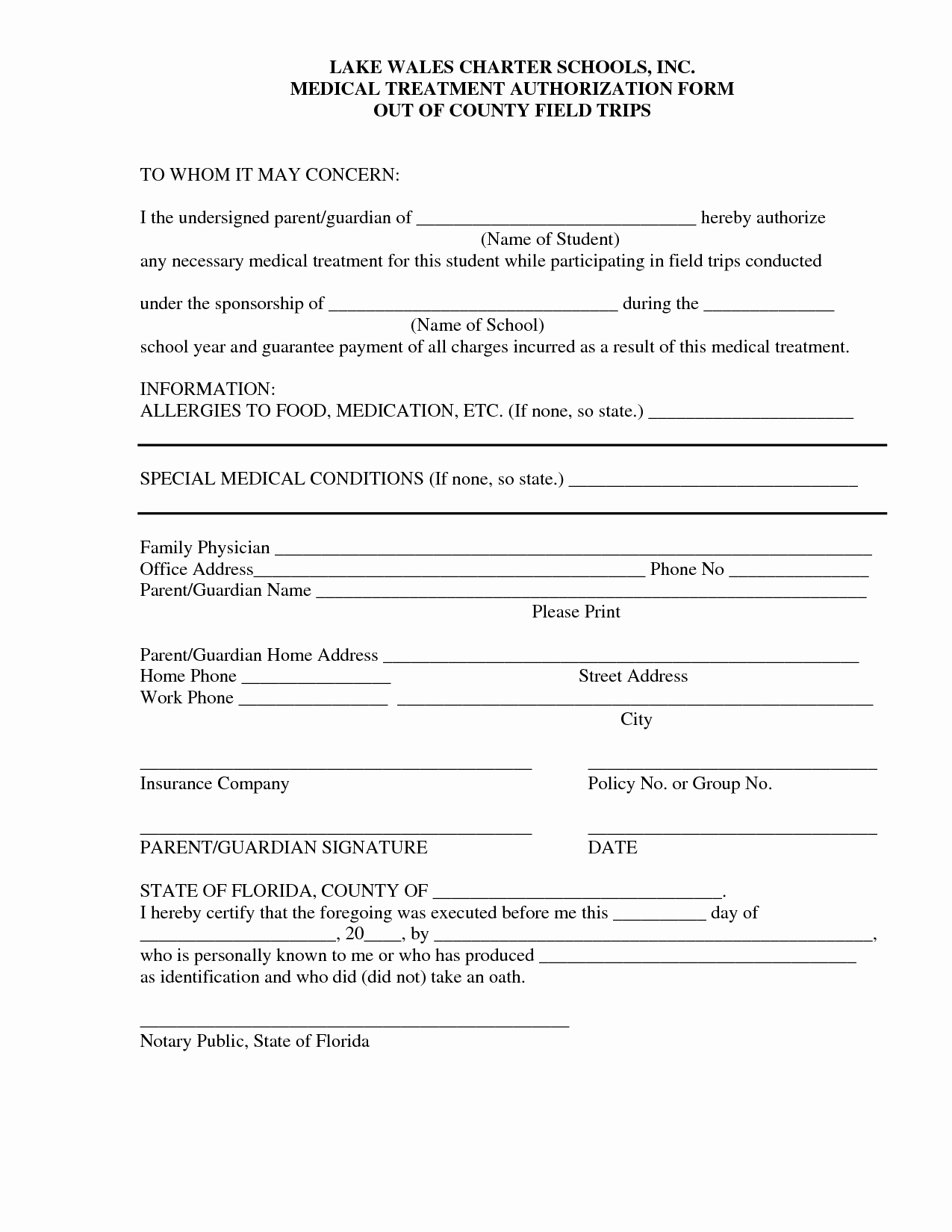 Best S Of Medical Treatment Consent form Template