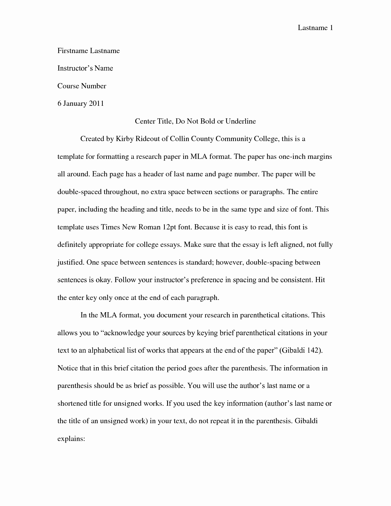 Best S Of Mla College Research Paper Outline Mla