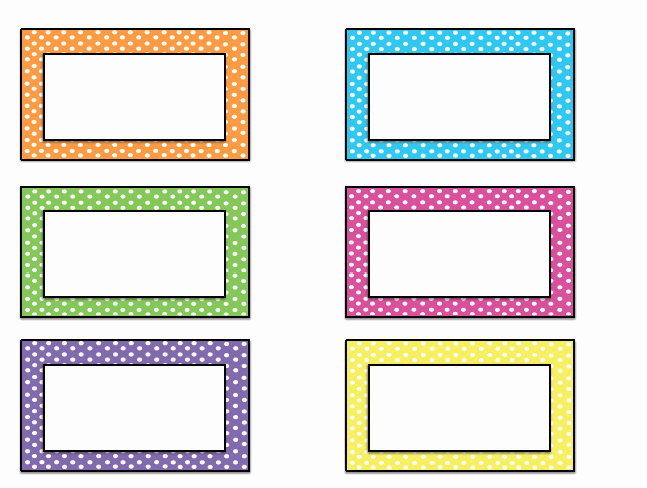 Best S Of Name Card Templates for Preschoolers