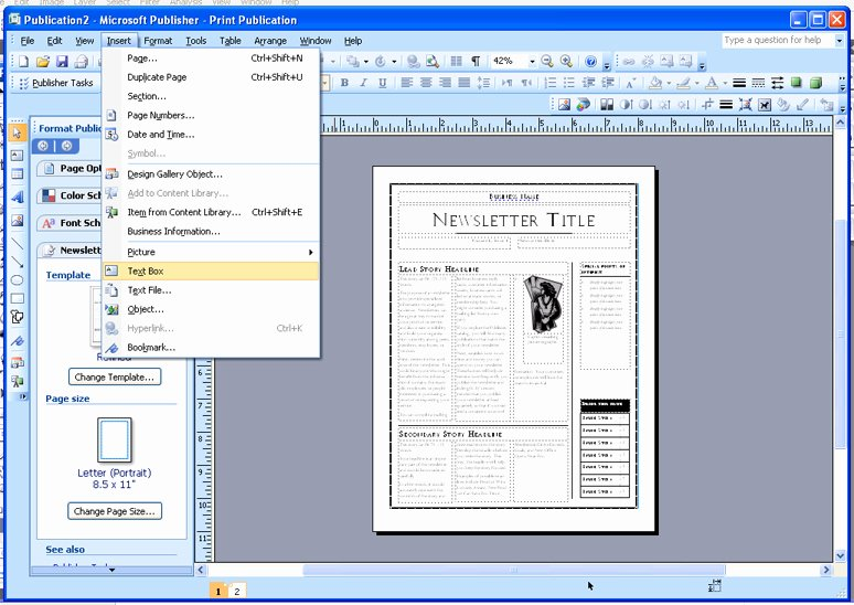 Best S Of Newspaper Template Publisher Microsoft