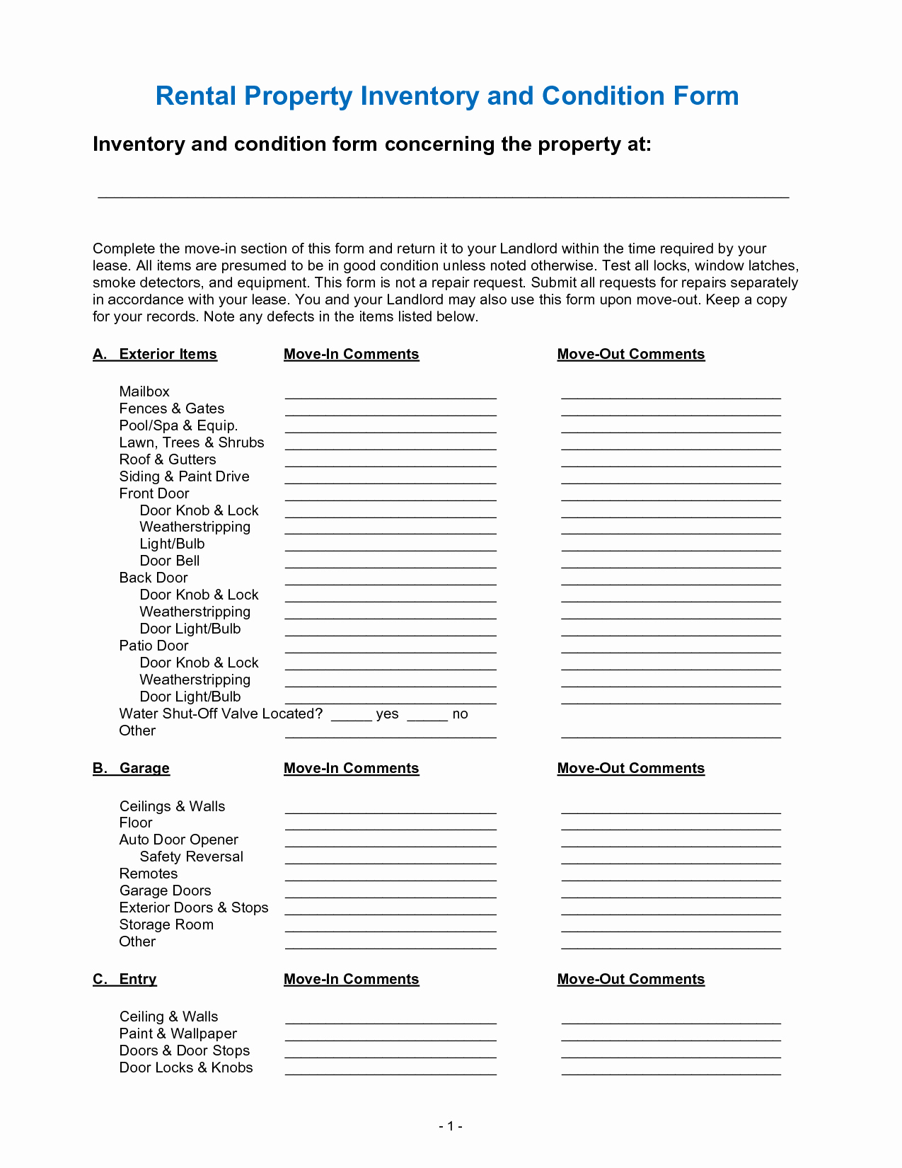 Best S Of Personal Property Inventory for Home