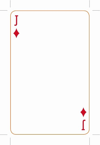 Best S Of Playing Card Template Playing Card Deck