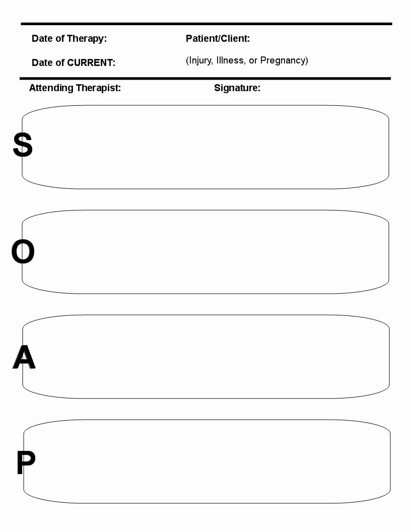 Best S Of Printable soap Note forms Massage soap