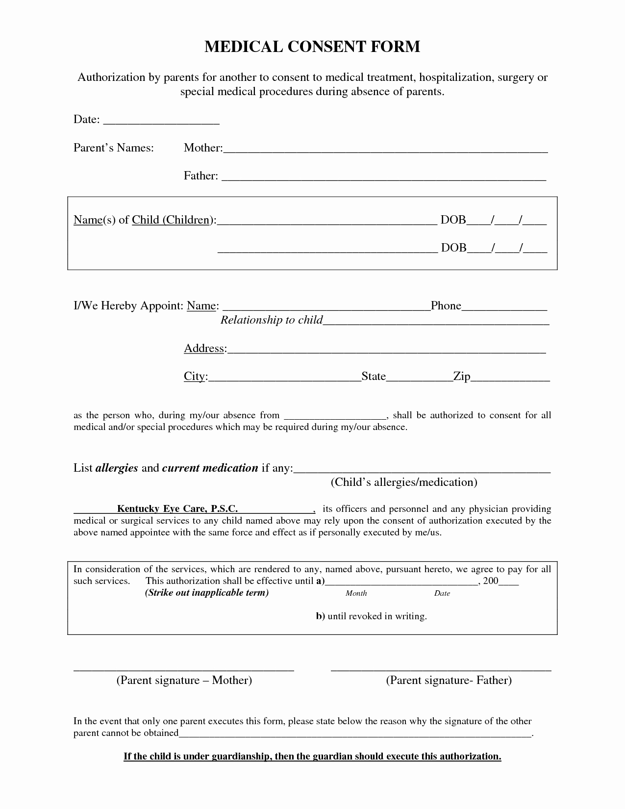 Best S Of Procedure Consent form Template Medical