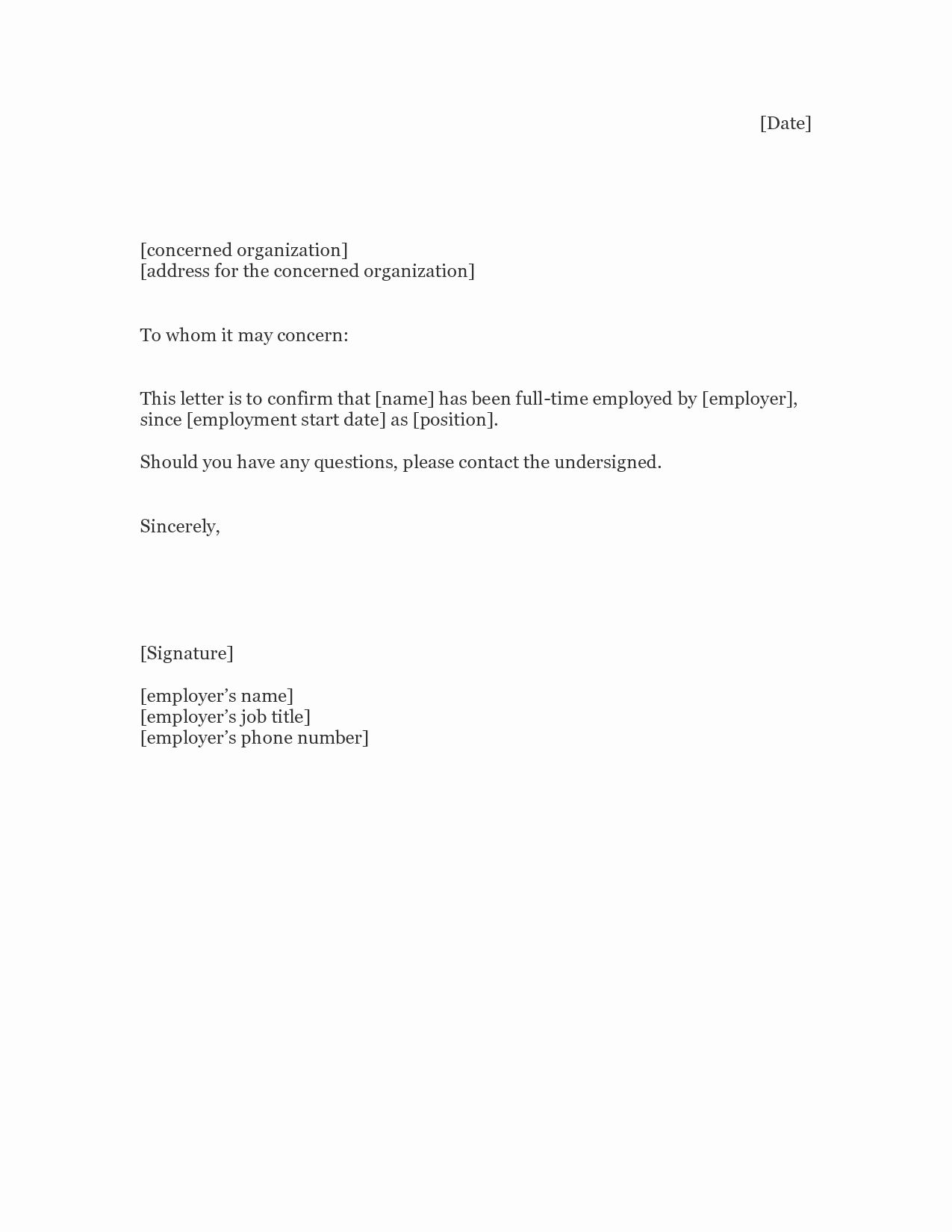 Best S Of Proof Unemployment Letter Sample Proof