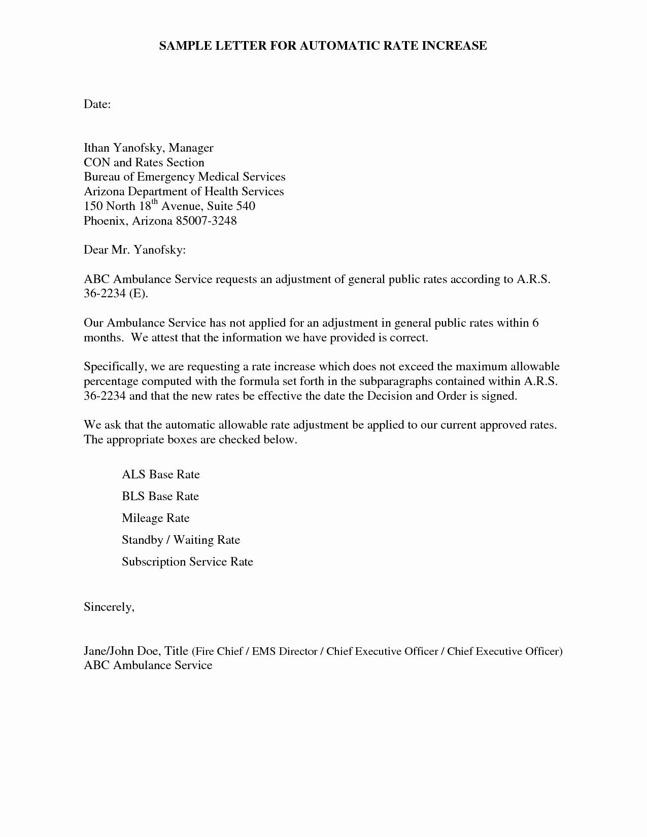 Best S Of Raise Letter Template Sample Letter