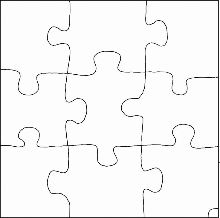 Best S Of Random 9 Piece Puzzle Template 9 Piece