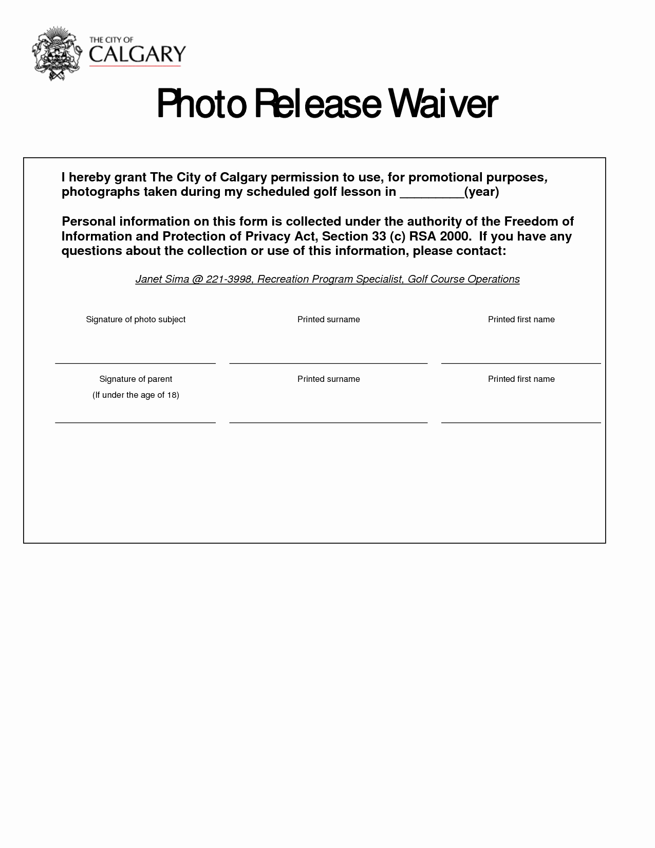 Best S Of Release form Template Graphy