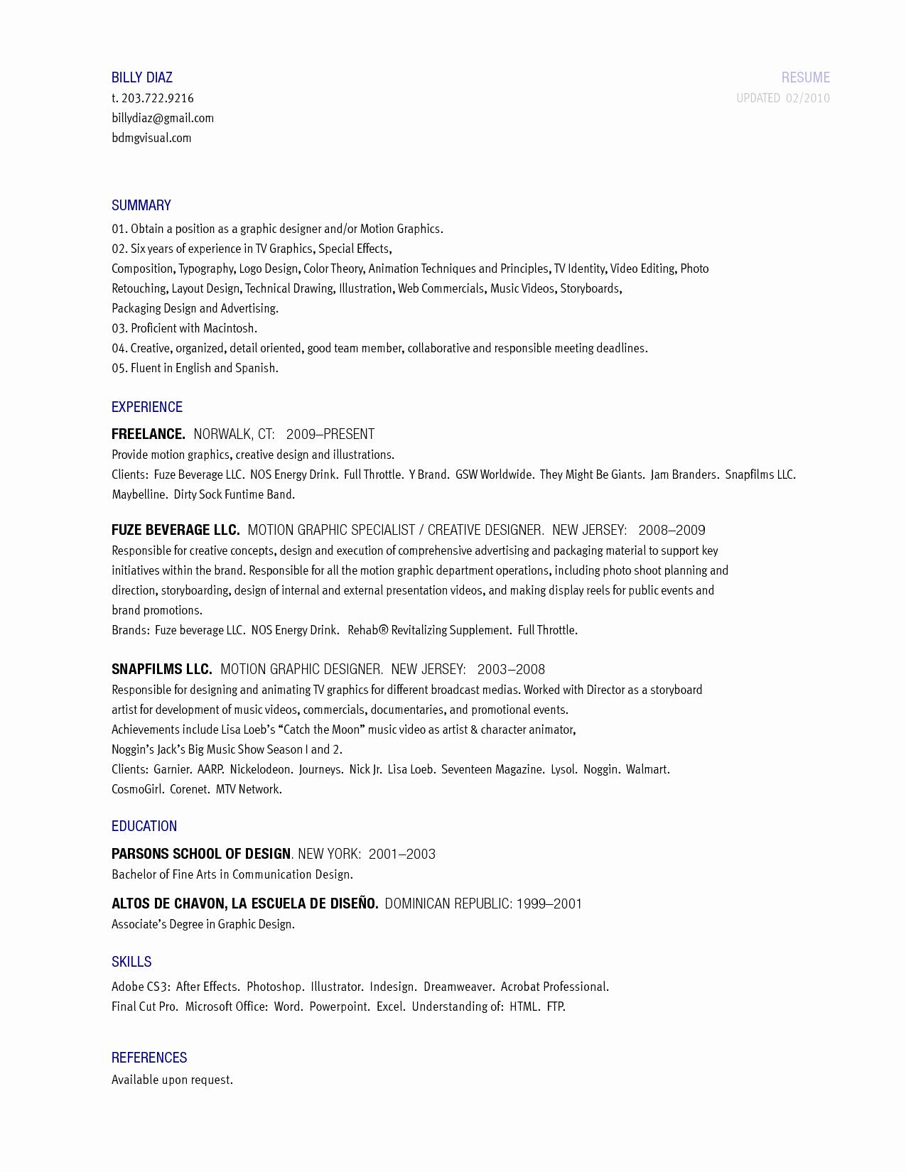 Best S Of Skill Summary Resume Examples Skills
