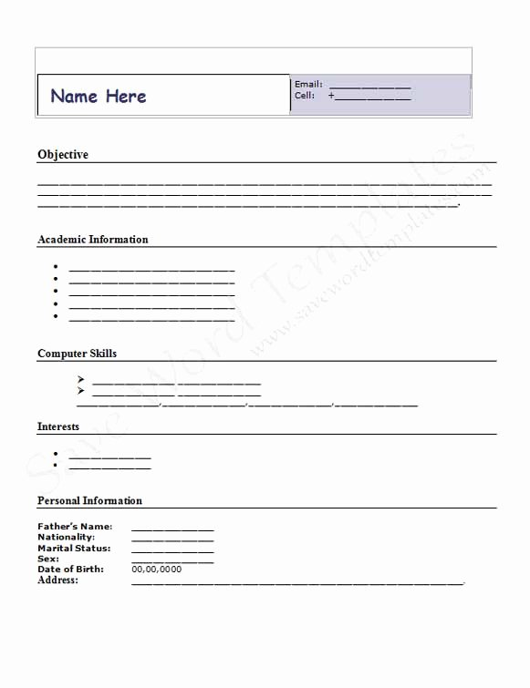 Best S Of Templates for Microsoft Word form Free