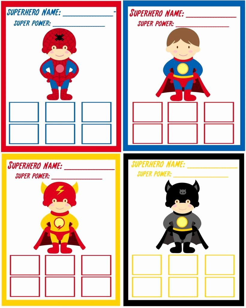 Best Superhero Birthday Invitations Templates Free