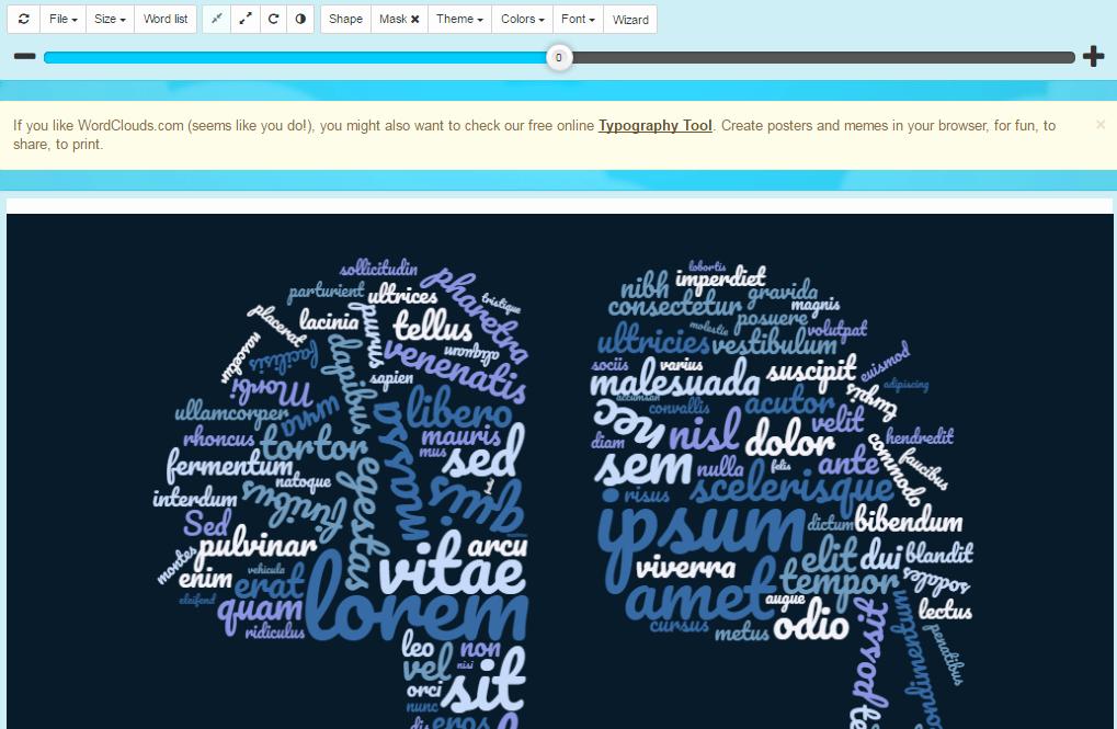 Best Word Cloud Generator Create Word Clouds Free Shape