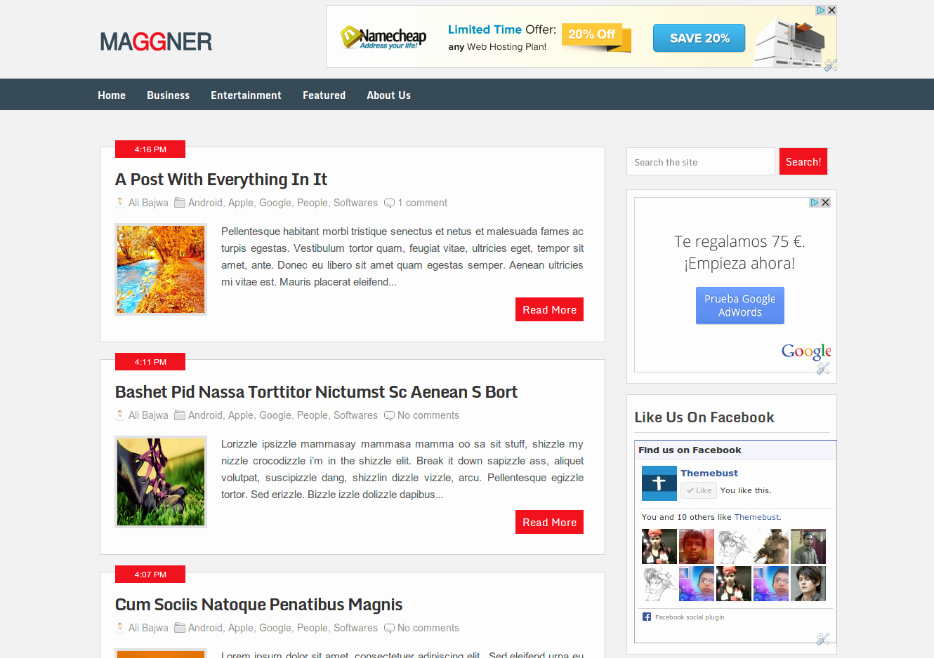 Best Wordpress Converted Free Blogger Templates Of 2013