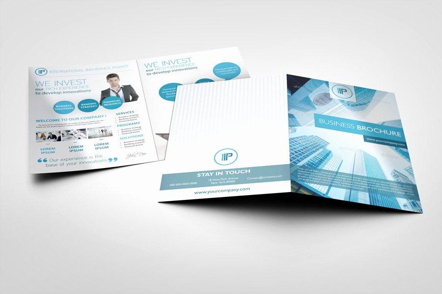 Bi Fold Brochure Mock Ups