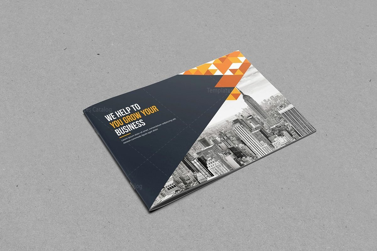 Bi Fold Brochure Template with Classy Style